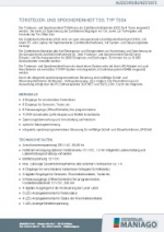 Türsteuer- und Speichereinheit TSS, Typ TSS4